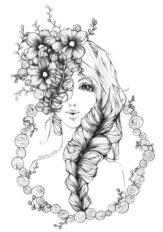 Aku dan Bunga Telang